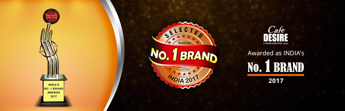 Cafe_Desire_No1_Brand_award_Banner